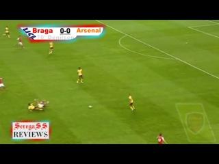 Обзор матча ЛЧ 10/11 5-й Тур Брага - Арсенал 23.11.2010