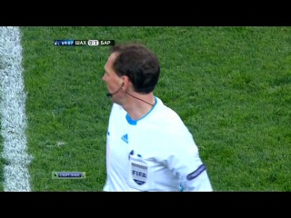 12.04.2011. Футбол. Еврокубки. Лига чемпионов 2010-11. 1/4. Ответный матч. Шахтёр (Украина) - Барселона (Испания). 2 тайм на НТВ