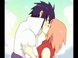 Саске и сакура их любовь
