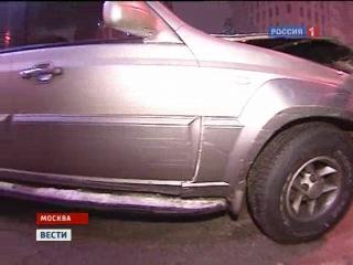 ДТП на Садовом Кольце в Москве. Водитель: У меня заклинила педаль газа