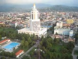 Batumi helicopter view