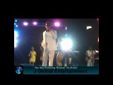 Ronald Isley performing