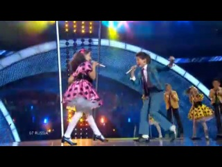 JESC 2010 Russia Sasha Lazin Liza Drod - Boy and Girl