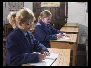 Порка школьниц в школе: учитель порет девушек розгами, паддлом за разные провинности. Часть 5.
