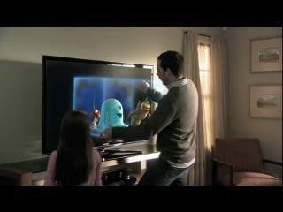 Samsung 3d led tv- monsters vs aliens dedicated to wonder commercial