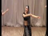 индийский танец, ансамбль эстрадного танца
