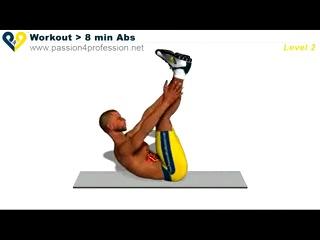 Chest Workout Level 2 Лучшие упражнения для брюшного пресса (Уровень 2)