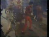 Майкл Джексон и Куинси Джонс на съемках Thriller.