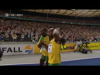 Мировой рекорд в беге на 100 метров - Усэйн Болт