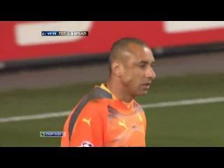 Гол Роналду в матче Тоттенхэм - Реал Мадрид 0 1