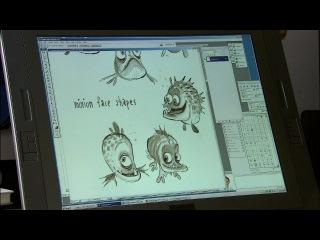 Как создаются анимационные фильмы(Megamind 2010)