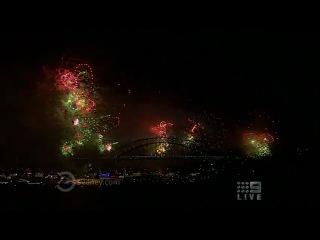 Новогодний салют в Сиднее (2011) HD