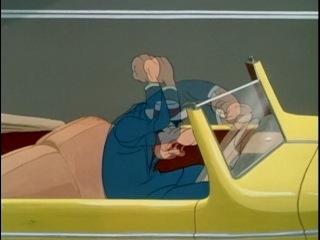 про пешехода и водителя. Страсть к мотору / Motor mania (1950)
