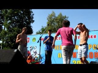 2х2 Battle - LekS & Polotenchik vs Dar Vetra & Плохой человек ( Russian beatbox championship 2011 )
