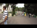 Фонтаны в курортном парке г. Ессентуки