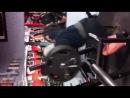 "Eugene Mishin's leg workout at the Powerhouse gym Bev""s Francis"