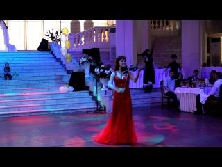 скрипачка ЗАРИНА дикие танцы скрипка