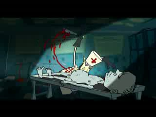 страшный пристрашный ))) мульт про вред наркотиков Алкоголя и табака.