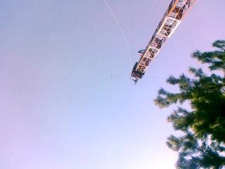 второй прыжок с вышки