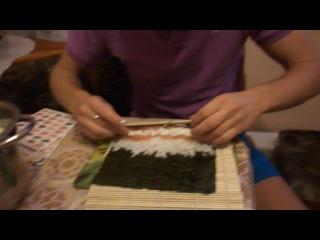 Как делать суши? (роллы). Делаем суши дома сами.