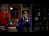 Радж поет Red Hot Chili Peppers (Теория большого взрыва 2 сезон 15 серия)