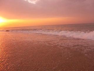 Рассвет. Золотой пляж. Феодосия