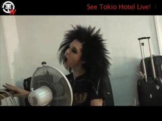 Tokio Hotel TV (эпизод с Биллом и вентилятором)