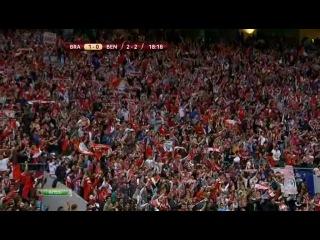 Брага - Бенфика (1/2 Лиги Европы 2010/2011) - Победный голллллл!!!