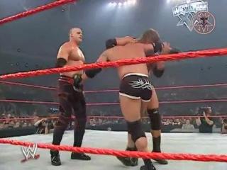 WWE Armageddon: Goldberg Vs. Kane Vs. Triple H (14 Декабря 2003)