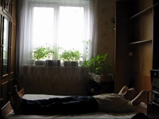 самодельная кровать-шкаф