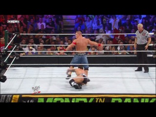 CM Punk vs. John Cena for WWE Championship Money In The Bank 2011