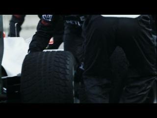 Mercedes GP Petronas Тренировка питстопов