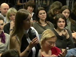 Пресс-конференция посвященная фильму  «Generation П»