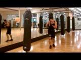 Azamat Dugulubgov MMA bag workout
