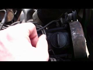 меняем прокладку клапанной крышки (начало)