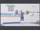Силовое двоеборье Чемпионат Европы Россия Казань девушки +75 кг. 17.04.2011