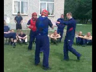 тренировочный бой (И.Ларюхин vs. А.Николаев)