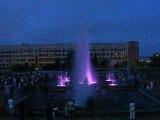 Цветной фонтан на Курантах