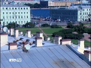 RTG 2009 г. Крыши Санкт-Петербурга.