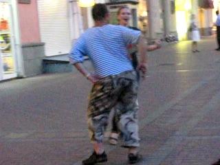 Евгения Рыбакова на Арбате - Мы уйдем из зоопарка (песня гр.Гр.Об. )