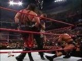 The Rock vs Chris Benoit vs The Undertaker vs Kane wwe