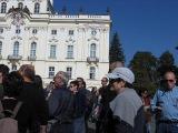 Чешская музыка возле Пражского Града