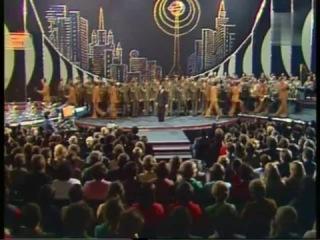 Юрий Богатиков, ВИА Пламя Идёт солдат по городу -хор ВВ МВД СССР-королевские войска!