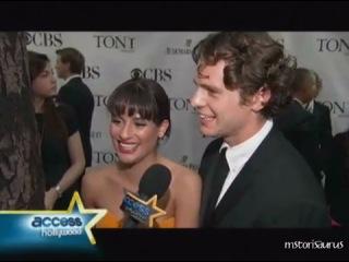 2010 Tony Awards: Lea Michele, Jonathan Groff & Matthew Morrison Talk 'Glee'