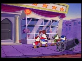 Утиные истории / Duck Tales Серия 27 Сезон 1 - Решающая битва Зигзага