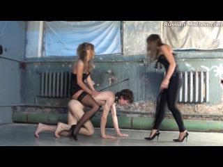 Russian-Mistress Megan & Jenifer 2