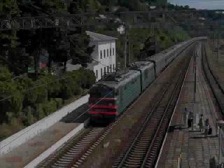 Видео про электровозы серии