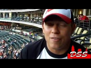 60 With The Miz WWE Superstar The Miz At Cleveland Indians Game