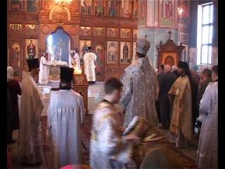 Архиерейское служение в Вознесенском Соборе г. Мончегорска.