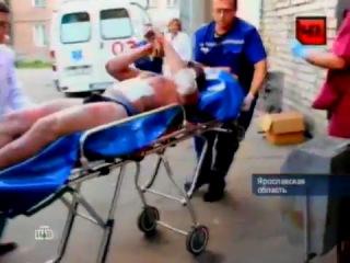 Александр Галимов после авиакатастрофы в Ярославле